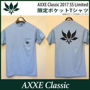 AXXE Classic:2017 SUMMER LIMITED Tee/アックスクラッシック 限定ポケットTシャツ zenithgaragesurfplus 05