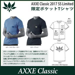 AXXE Classic:2017 SUMMER LIMITED Tee/アックスクラッシック 限定ポケットTシャツ|zenithgaragesurfplus|06