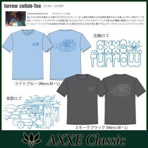 AXXE Classic:furrow collab-tee/2019 SUMMER LIMITED アックスクラッシック Tシャツ|zenithgaragesurfplus