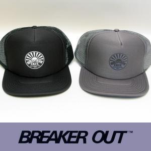 BREAKER OUT:メッシュキャップ 2color/2020 SUMMER LIMITED ブレーカーアウト キャップ|zenithgaragesurfplus