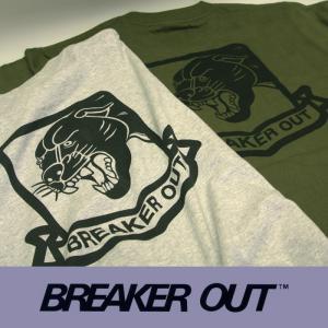 BREAKER OUT:半袖Tee 2color/2020 SUMMER LIMITED ブレーカーアウト Tシャツ|zenithgaragesurfplus