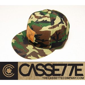 CASSETTE:CAP [DEERLY] カモフラ柄/カセット キャップ|zenithgaragesurfplus