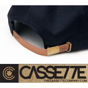 CASSETTE:CAP [BEACHIN' SUNSET] ブラック&ホワイト/カセット キャップ|zenithgaragesurfplus|03