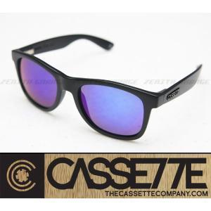 CASSETTE サングラス:O.G LX 403 [Matte Black/Blue Mirror Lens] 艶消しブラックフレーム|zenithgaragesurfplus