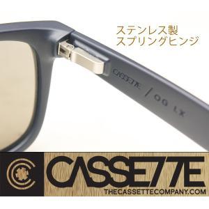 CASSETTE サングラス:O.G LX 403 [Matte Black/Blue Mirror Lens] 艶消しブラックフレーム|zenithgaragesurfplus|04