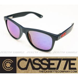 CASSETTE サングラス:O.G LX 505 [Matte Blue/Blue Mirror Lens] マットブルーフレーム|zenithgaragesurfplus