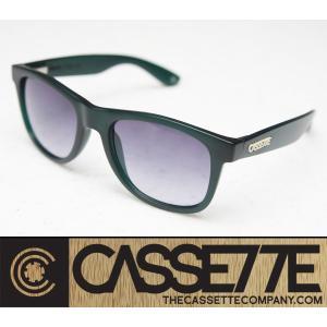 CASSETTE サングラス:O.G LX 603 [Frosted Green/Gray Grad Lens] ダークグリーンフレーム|zenithgaragesurfplus
