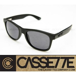 CASSETTE 偏光レンズ:O.G LX 701 [Matte Black/Gray Lens] 艶消しブラックフレーム サングラス|zenithgaragesurfplus