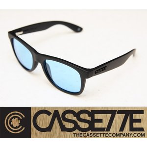 CASSETTE サングラス:O.G LX 805 [Matt Black : Clear Blue Lens] マットブラック&クリアブルーレンズ|zenithgaragesurfplus