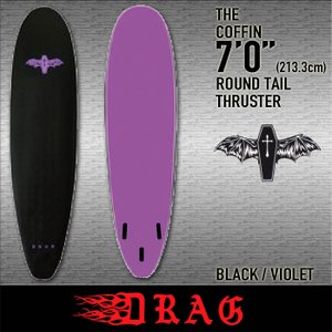 2019 DRAG [THE COFFIN] 7'0
