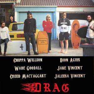 DRAG SKATEBOARD:サーフ系 カービングトラック装着スケートボード 29インチ 30インチ 34インチ/ドラッグ スケートボード INTRO|zenithgaragesurfplus|03