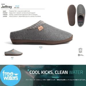 FREEWATERS:Jeffrey Mens ルームシューズ&サンダルとしても使えるマルチシューズ 2018 holiday/フリーウォーター|zenithgaragesurfplus|02