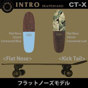 INTRO CT-X:サーフ系 カービングトラック装着スケートボード 32インチ 34インチ 36インチ/イントロ スケートボード|zenithgaragesurfplus|02