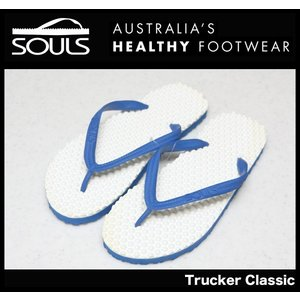 SOULS マッサージビーチサンダル:Trucker Classic 凸凹が気持ちいい 通気性抜群 レディースサイズ/郵便発送対応|zenithgaragesurfplus