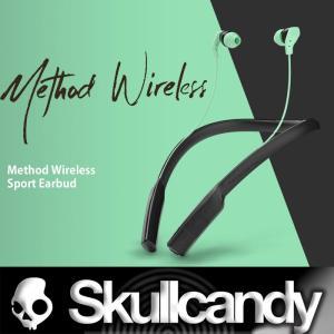 プレゼント付き Skullcandy:METHOD Wireless アスリートにも最適なネックカラーイヤフォン メソッド ワイヤレス/スカルキャンディー zenithgaragesurfplus
