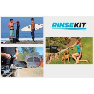 RINSE KIT:電源・ポンプ要らず! 加圧式ポータブルシャワー リンスキット サーフィン・キャンプ・アウトドアで大活躍|zenithgaragesurfplus|04