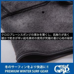 SURF GRIP:日本製 極寒冷地仕様 マスク付き 1mm フルフェイス型 ストレスフリーフード  STRESS FREE HOOD サーフグリップ/SURFGRIP|zenithgaragesurfplus|02