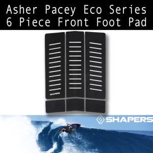 [送料350円] SHAPERS:シェイパーズ デッキパッド [Asher Pacey] 6-Piese FRONT PAD Eco Series/フロント用 トラクション zenithgaragesurfplus