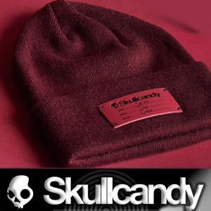 Skullcandy:Limited Beanie 2019 Sept Oxblood スカルキャンディー ビーニー ニットキャップ/郵便送料無料|zenithgaragesurfplus