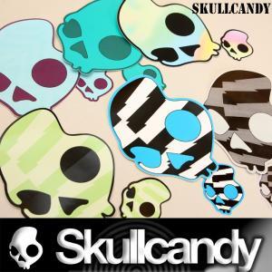 Skullcandy:スカルキャンディー カラーロゴ ステッカー 12枚セット (6色x2枚) 正規品/郵便発送対応|zenithgaragesurfplus