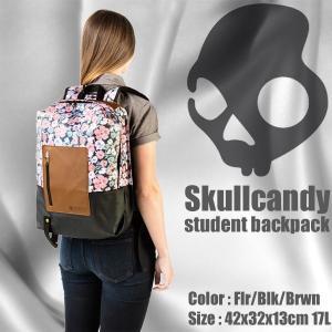 プレゼント付き Skullcandy:スカルキャンディー ステューデント バックパック [STUDENT BACKPACK] フラワー柄 デイバック リック 花柄|zenithgaragesurfplus