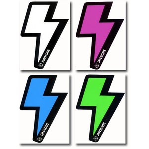 SYNDICATE:シンジケート ライトニング ロゴ ステッカー 4色展開 /郵便発送対応|zenithgaragesurfplus