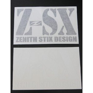 ZENITH STIX:ゼニスサーフボード メインロゴステッカー/郵便発送対応|zenithgaragesurfplus