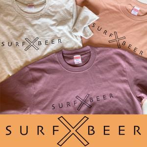 SURFxBEER:ビール大好きサーファーへ オリジナル 半袖Tee /SURF x BEER|zenithgaragesurfplus