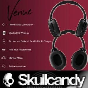 Skullcandy Bluetooth:VENUE WIRELESS ノイズキャンセリング ヘッドフォン べニュー ワイヤレス  急速充電機能 正規店2年保証/送料無料|zenithgaragesurfplus|04