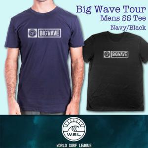 ■予約販売■WSL ワールドサーフリーグ:BIG WAVE TOUR メンズ Tシャツ/WSL公認正規品|zenithgaragesurfplus