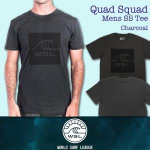 ■予約販売■WSL ワールドサーフリーグ:QUAD SQUAD メンズ Tシャツ/WSL公認正規品|zenithgaragesurfplus