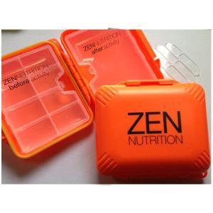 ■ZEN NUTRITION■持ち運びに便利! サプリメント詰替えケース M/郵便発送対応|zenithgaragesurfplus