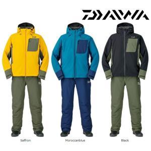 防寒最終セール!! ダイワ 防寒 レインマックス ハイパー ストレッチ ウィンタースーツ DW-3107  M〜XL|zeniya-tsurigu