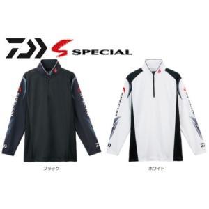 ダイワ スペシャル ウィックセンサー ジップアップ長袖メッシュシャツ DE-7207 /M/L/XL 鮎 ウェア|zeniya-tsurigu