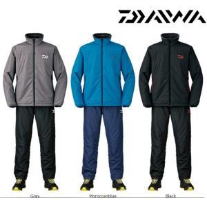 防寒最終セール!! ダイワ ウォームアップスーツ DI-5207 M〜XL|zeniya-tsurigu