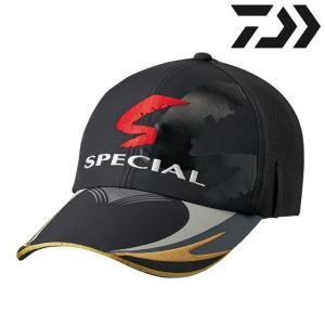 ダイワ 帽子 スペシャル ウィンドストッパー ハーフメッシュキャップ DC-15008 / マスターブラック|zeniya-tsurigu