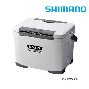 シマノ クーラーボックス フィクセル・ベイシス 170 / 17L ピュアホワイト|zeniya-tsurigu