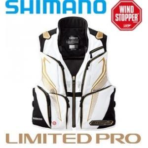 シマノ ウィンドストッパー 2WAYベスト・リミテッドプロ  VE-011P /M/L/XL 鮎 ベスト|zeniya-tsurigu
