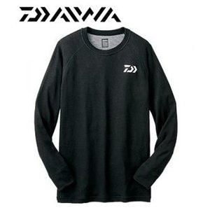 値下げ!!ダイワ 防寒 ブレスマジック クルーネックシャツ (厚手) DU-3204S|zeniya-tsurigu