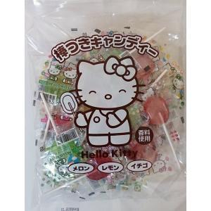 ハローキティ棒つきキャンディー 310g(約45本)入 (株)ニッシン・ドルチェ|zennokasiten