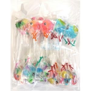 熱帯魚型ファンシーキャンデー 40本入 (資)日野雄早川商店|zennokasiten