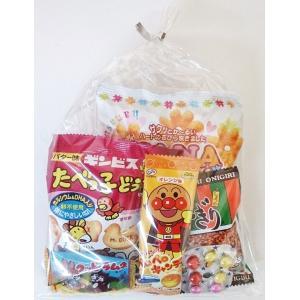 150円 お菓子袋詰め合わせ  C (幼児向き) 【本州、四国、九州への発送に限り、数量関係なく1個口送料でお届け可能】