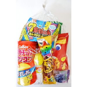 300円 お菓子袋詰め合わせ G 【本州、四国、九州への発送に限り、数量関係なく1個口送料でお届け可能】