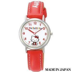 ハローキティ HELLO KITTY 子供用腕時計 キッズ腕時計キャラクターウォッチ 0005N001 MADE IN JAPAN (日本製)|zennsannnet