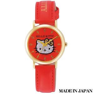 ハローキティ HELLO KITTY 子供用腕時計 キッズ腕時計キャラクターウォッチ 0009N004 MADE IN JAPAN (日本製)|zennsannnet