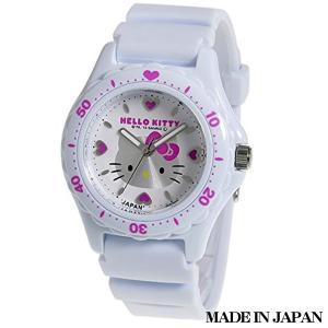 ハローキティ HELLO KITTY 子供用腕時計 キッズ腕時計キャラクターウォッチ 0027N001 MADE IN JAPAN (日本製)|zennsannnet