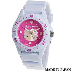 ハローキティ HELLO KITTY 子供用腕時計 キッズ腕時計キャラクターウォッチ 0027N002 MADE IN JAPAN (日本製)|zennsannnet