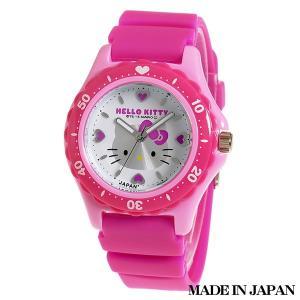 ハローキティ HELLO KITTY 子供用腕時計 キッズ腕時計キャラクターウォッチ 0029N001 MADE IN JAPAN (日本製)|zennsannnet