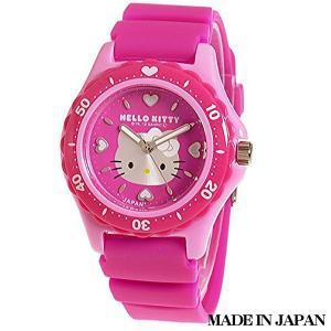 ハローキティ HELLO KITTY 子供用腕時計 キッズ腕時計キャラクターウォッチ 0029N002 MADE IN JAPAN (日本製)|zennsannnet