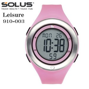 心拍計測 ランニングウォッチ 腕時計 ソーラス SOLUS メンズ腕時計 Leisure 910-003 ピンク zennsannnet